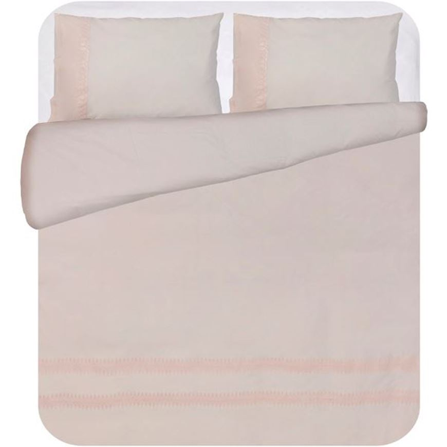 PETUNIA duvet cover set of 3 pink