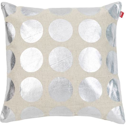 Picture of ABELLE cushion cover 45x45 silver
