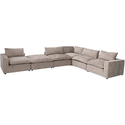 Picture of STARLIGHT corner sofa taupe