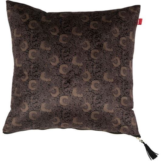Picture of ROCCO cushion cover 45x45 brown/blue