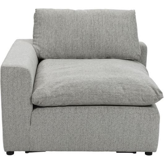 Picture of STARLIGHT chair with Left arm grey