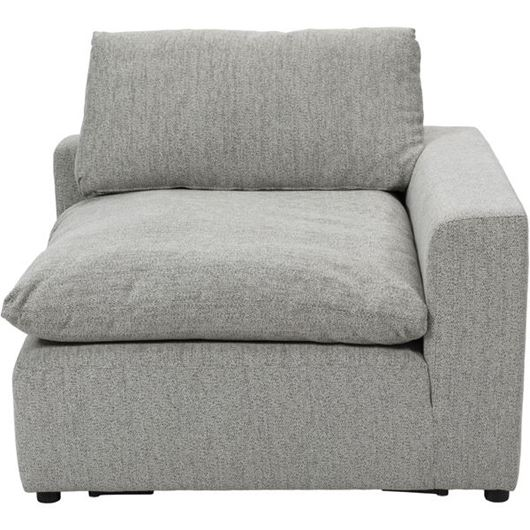 Picture of STARLIGHT chair with Right arm grey