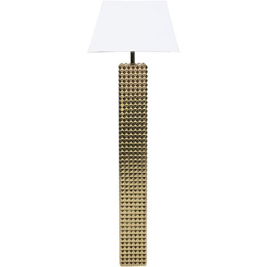 DIAMOND floor lamp h162cm white/gold