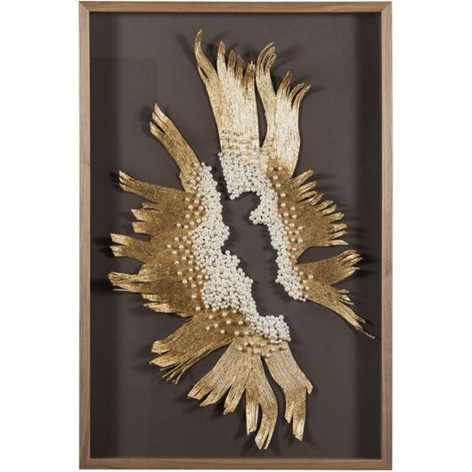 Picture of EDEN wall decoration 80x120 brown