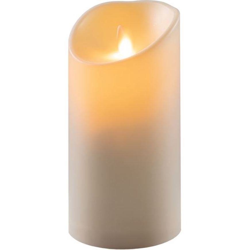 Picture of MOOD flameless candle 9x18 cream