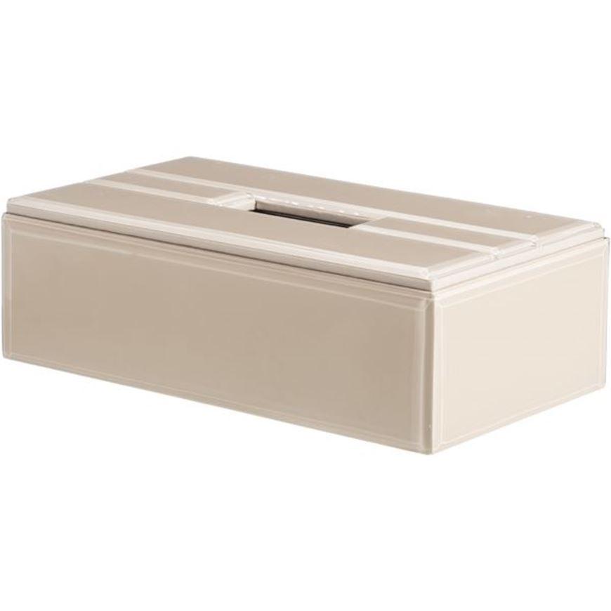 Picture of DENYA tissue box 13x26 beige