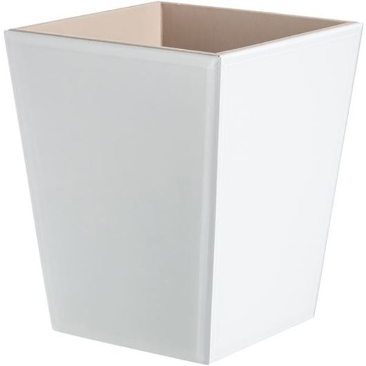 Picture of BLANC waste can white