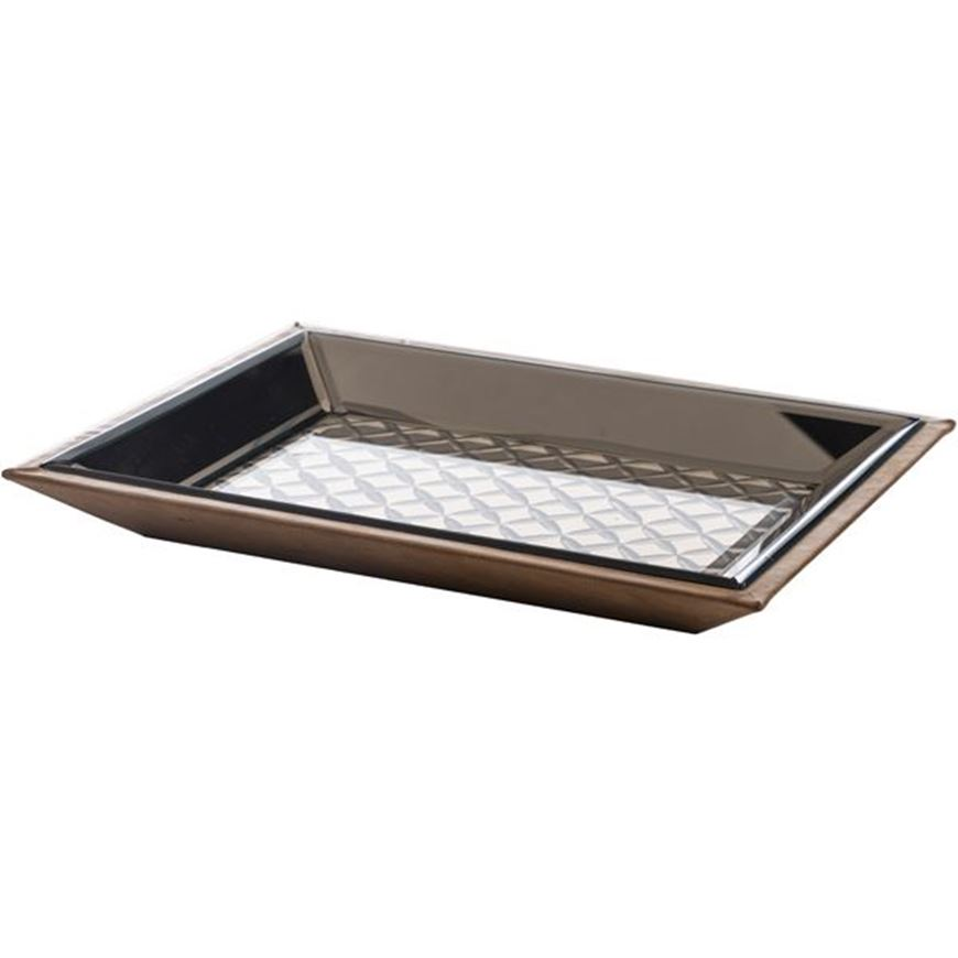 Picture of BASIL tray 31x23 bronze