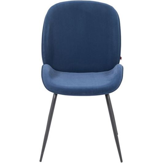 Picture of ARCHIE dining chair blue/black