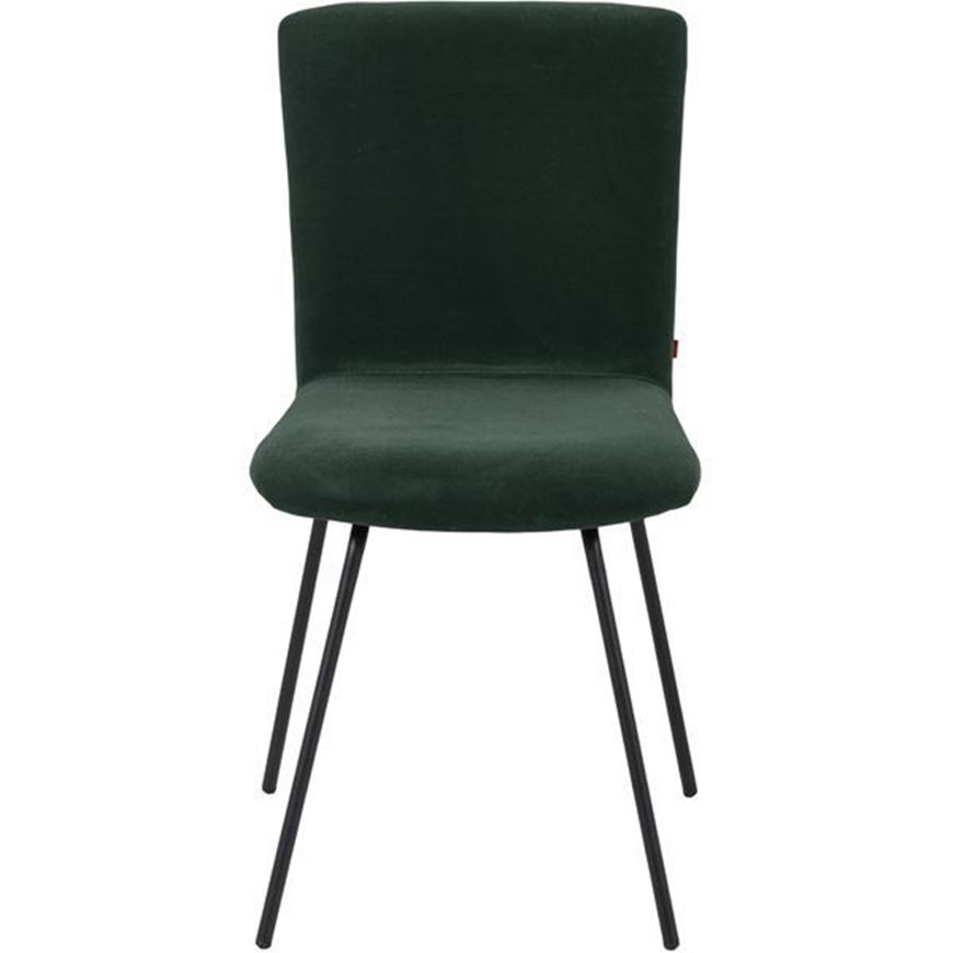 GUS dining chair green/black