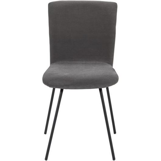 Picture of GUS dining chair grey/black