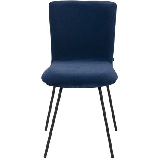 Picture of GUS dining chair blue/black