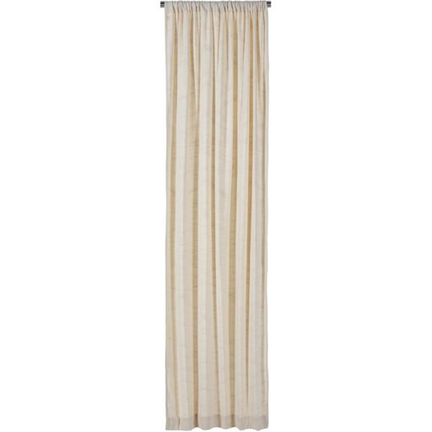 Picture of FUZZY curtain 106x275 cream