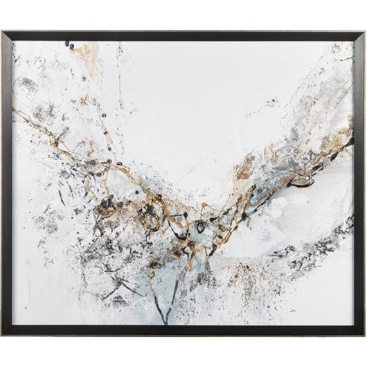 Picture of HOLDINGS print 88x74 black