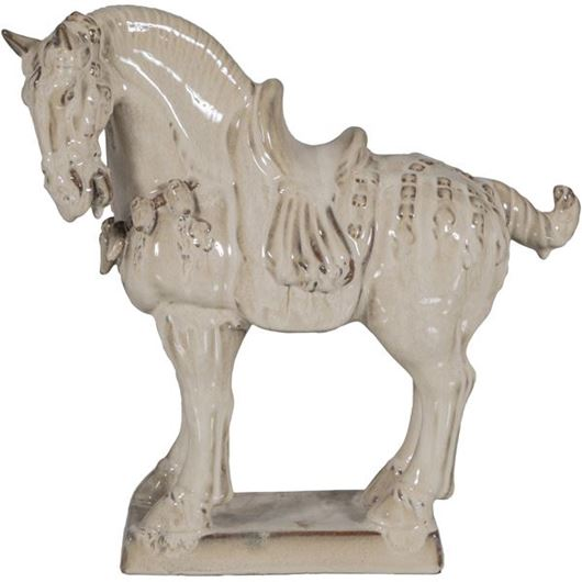 Picture of RILLEY horse decoration h43cm brown