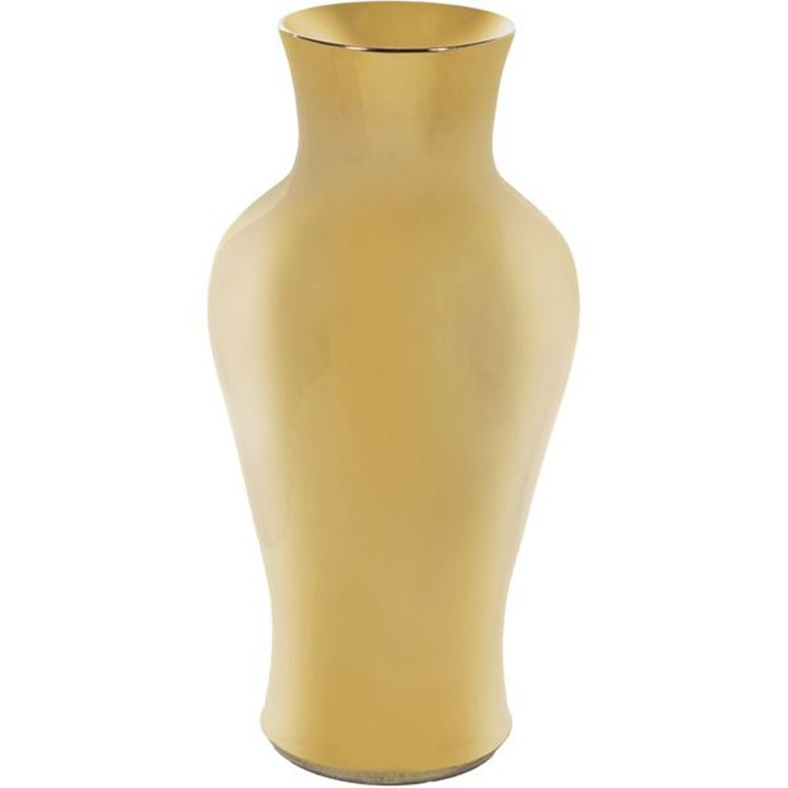 Picture of EVERLY vase h78cm gold
