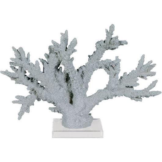 Picture of SENA coral decoration h26cm blue