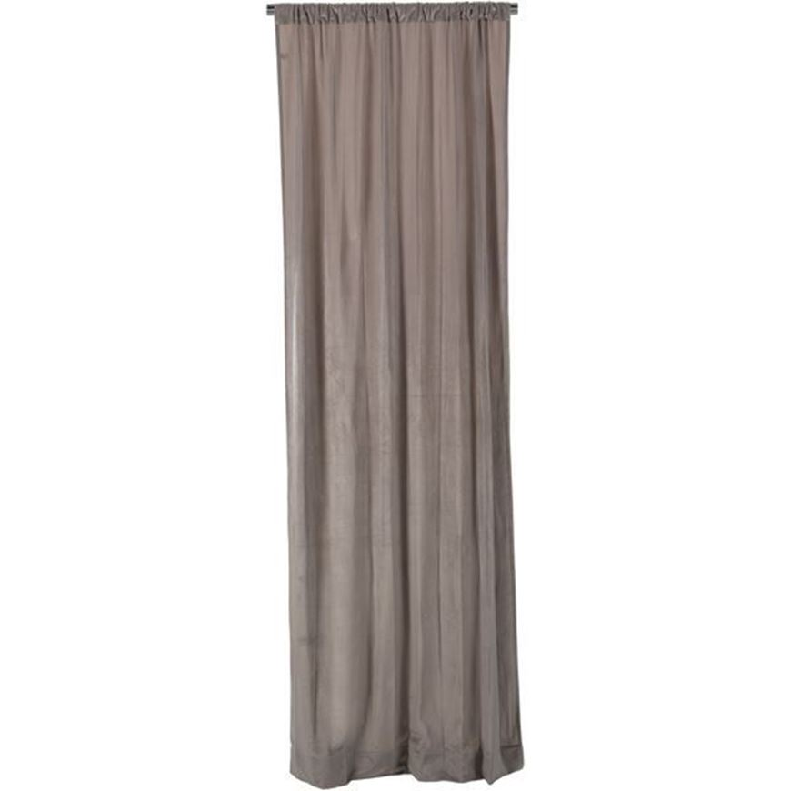 ANDY curtain 106x275 grey