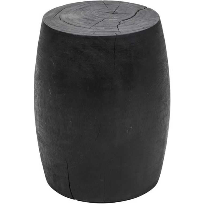 Picture of TRIBAL side table d35cm black