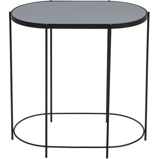 Picture of MELVIN side table 54x33 black