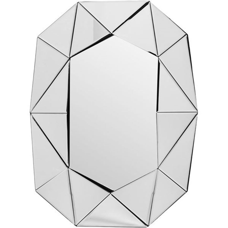 Picture of WALL mirror 81x64 grey