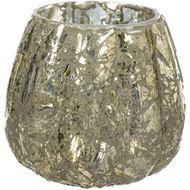 TIANA tea light holder h9cm silver