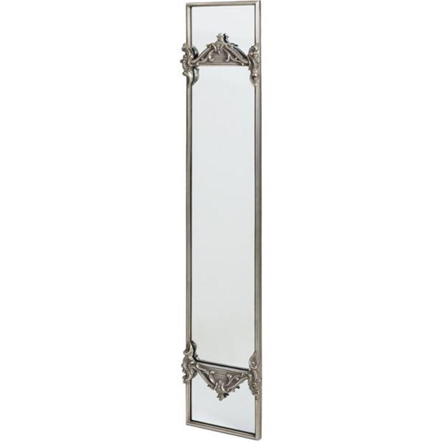 Picture of EVERETT mirror 165x34 silver