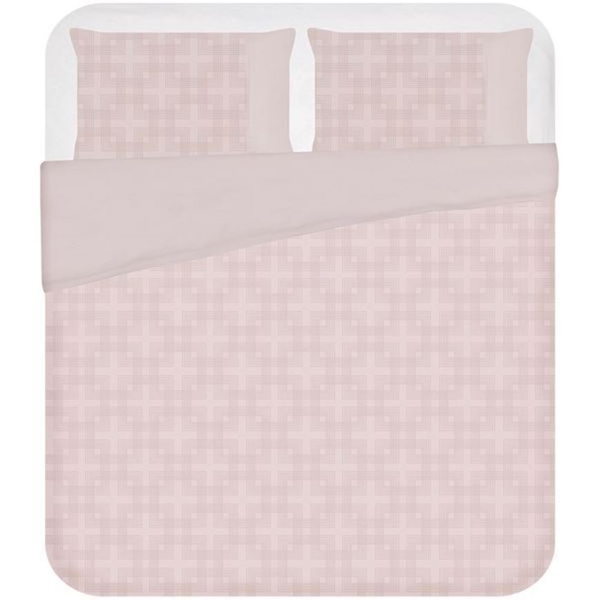 ADLEY duvet cover set of 3 pink