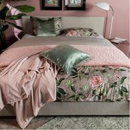 RHODODENDRON duvet cover set of 3 beige