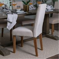 REBO dining chair taupe/natural