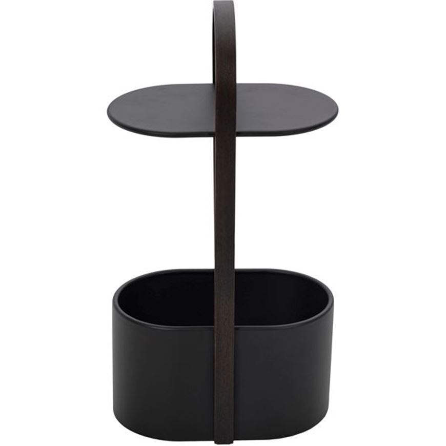 Picture of HUB side table 35x24 black
