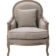 BECK armchair beige/grey