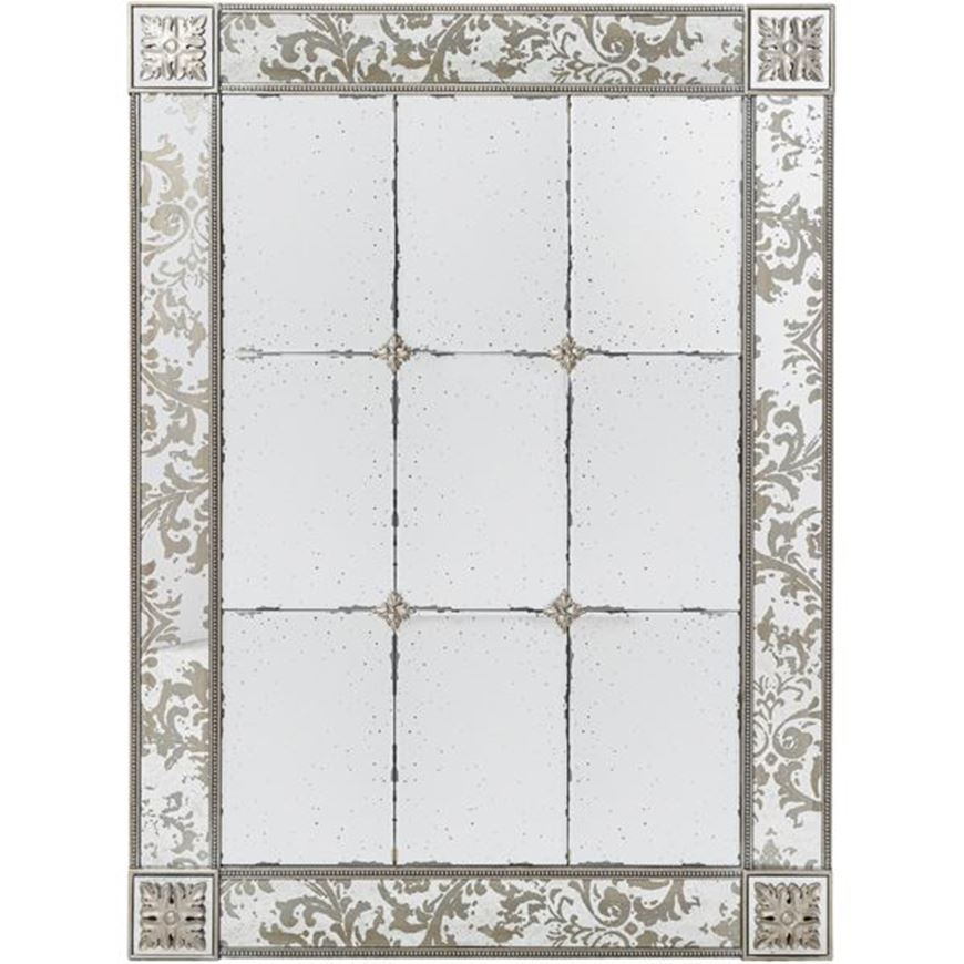 Picture of FREYA mirror 136x100 silver