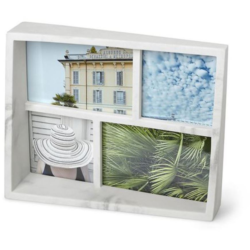 Picture of EDGE photo frame 4 white