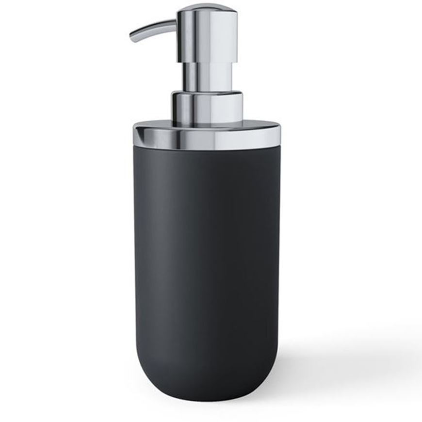 Picture of JUNIP soap pump black/stainless steel