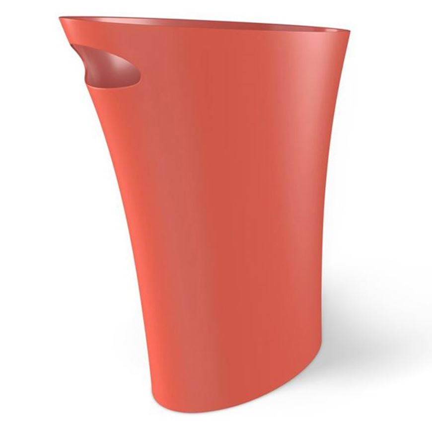 Picture of SKINNY waste can orange