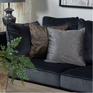 AVINA cushion cover 45x45 brown