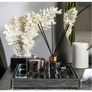 IVORY coral decoration h29cm white