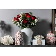 RIMI coral decoration h9cm white