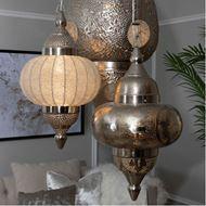 MIR pendant lamp d28cm white/nickel
