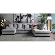 KINGSTON sofa U shape Right grey