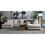 KINGSTON sofa U shape Right beige