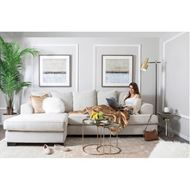 NITA cushion cover 45x45 beige