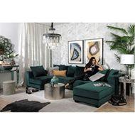 SPUD sofa 3.5 microfibre green