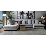 KINGSTON sofa U shape Left grey
