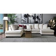 KINGSTON sofa U shape Left white