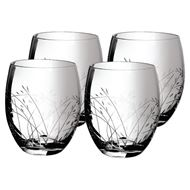 NESS tumbler h10cm set of 4 clear