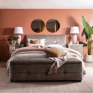 NAP bed 160x200 grey