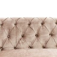 COUTURE sofa 3.5 pink