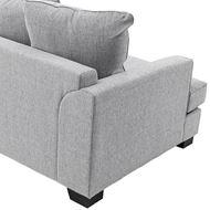 KINGSTON sofa 2.5 + chaise lounge Left grey